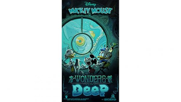 """New """"Wonders Of The Deep"""" Poster For Mickey & Minnie's Runaway Railway! 1"""