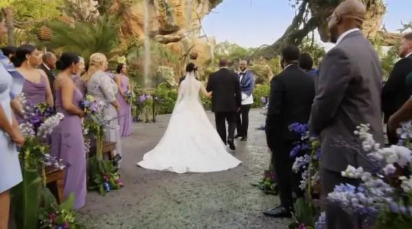 Disney Hosts First Ever Wedding in 'Pandora - The World of Avatar' 2