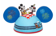 Mickey & Minnie's Runaway Railway Designer Collection Ear Hat by Kevin Rafferty