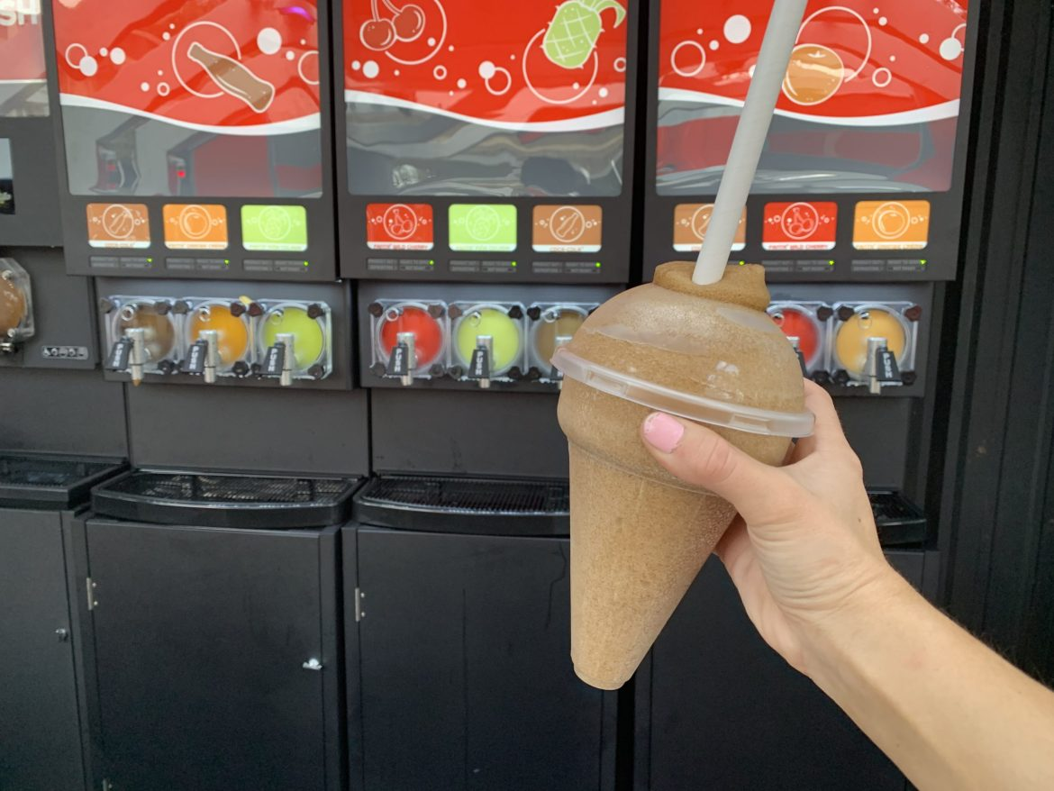 Chill Out With a Coca Cola Slushie From Epcot