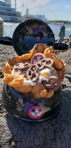 AristoCrepes is Now Serving A Bubble Waffle Sundae in a Mickey Mouse Club Ear Hat Bowl! 1