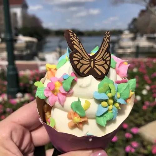 New Butterfly Cupcake Arrives At Walt Disney World 3