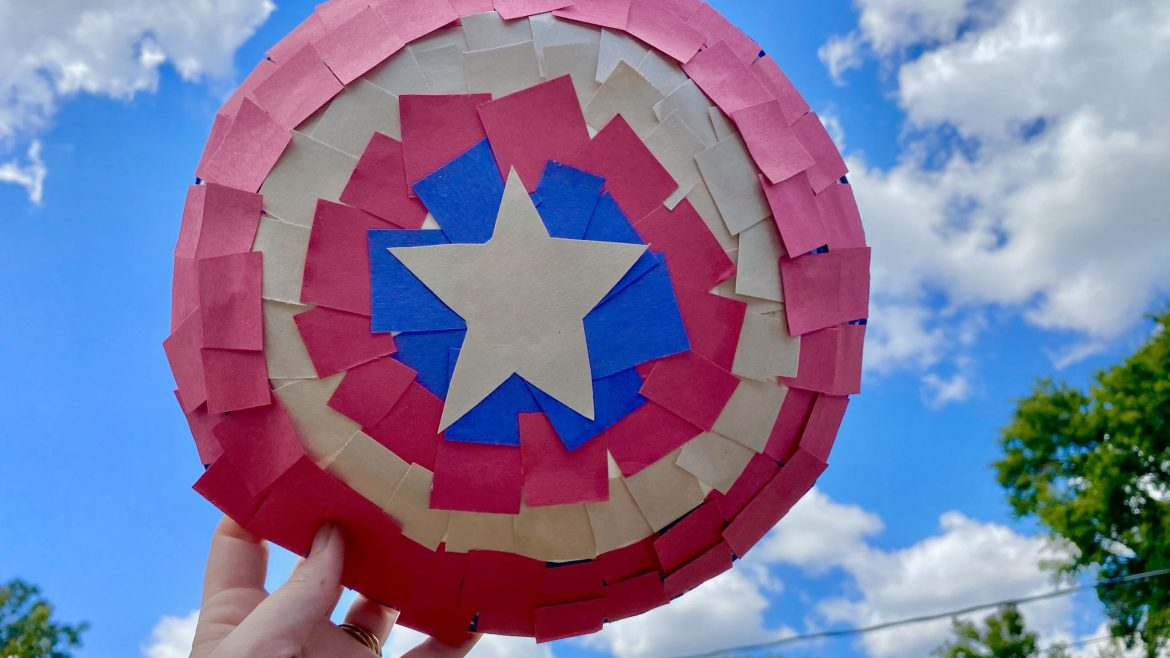 Disney Crafts – Make your own Marvel Captain America Shields