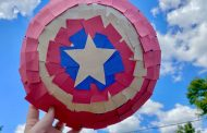 Disney Crafts - Make your own Marvel Captain America Shields