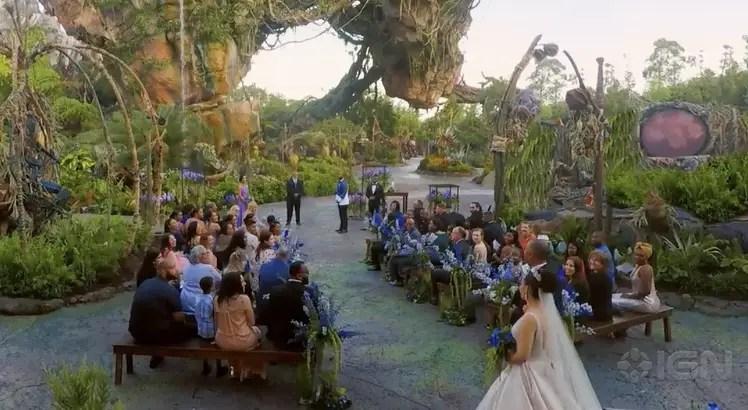 Disney Hosts First Ever Wedding in 'Pandora – The World of Avatar'