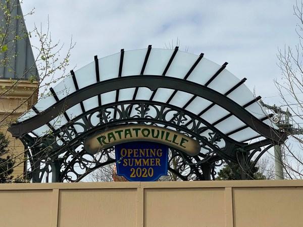 Ratatouille signage
