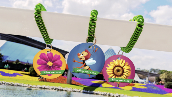 Flower and Garden Festival Gift Cards Have Sprung into Epcot