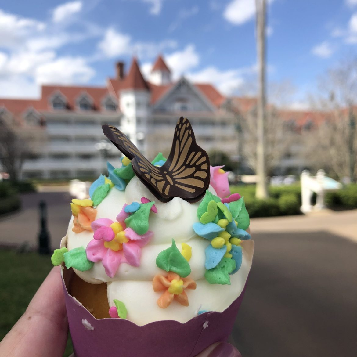 New Butterfly Cupcake Arrives At Walt Disney World