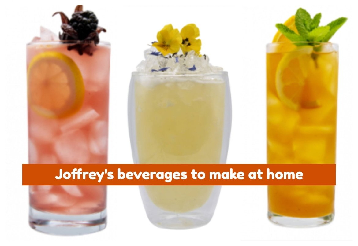 Joffrey's Adds Refreshing Tea-Based Recipes Online