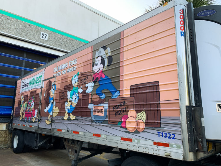 Photos: Disney World donates to the Second Harvest Food Bank of Central Florida