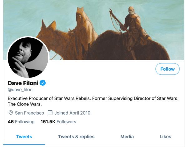 The Mandalorian's Dave Filoni Teases Another 'Star Wars: The Clone Wars' Character For Season 2 2