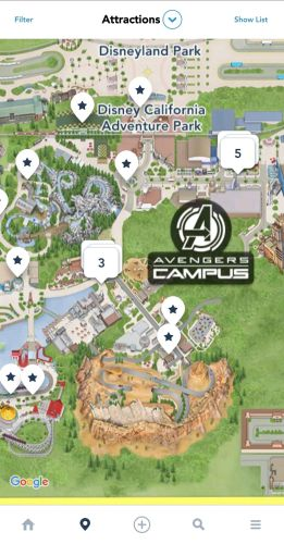 New Disneyland App Update Shows Avengers Campus and More! 3