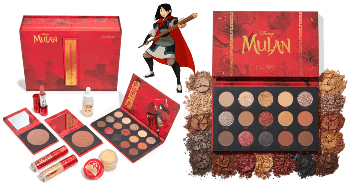 Mulan ColourPop Makeup Collection Brings Honor To Style