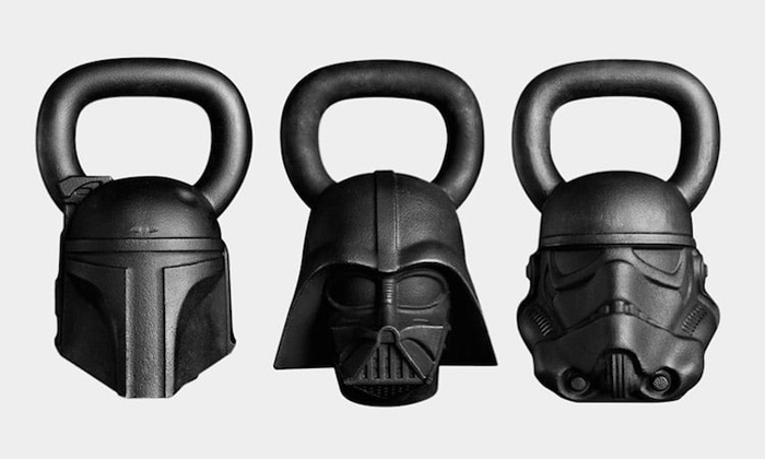 Train To Be A Sith Lord With This 'Star Wars' Themed Exercise Equipment