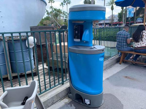 Hand Washing Stations are Popping Up all Over Walt Disney World Resort 1