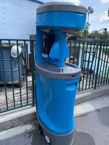 Hand Washing Stations are Popping Up all Over Walt Disney World Resort 5