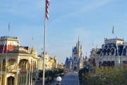 Walt Disney World Resort President Josh D'Amaro shares touching American flag video from the Magic Kingdom