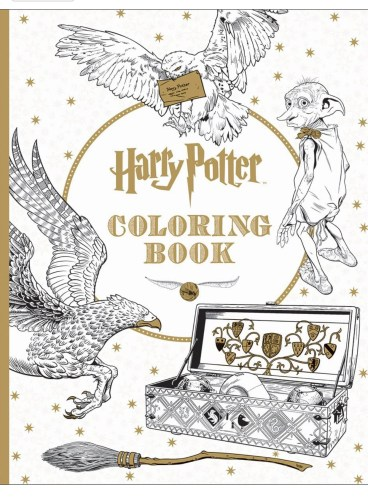 Manage Some Mischief With These Harry Potter Coloring Pages 3
