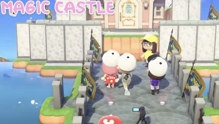 One Imaginative Fan Creates Disneyland Inside 'Animal Crossing: New Horizons'