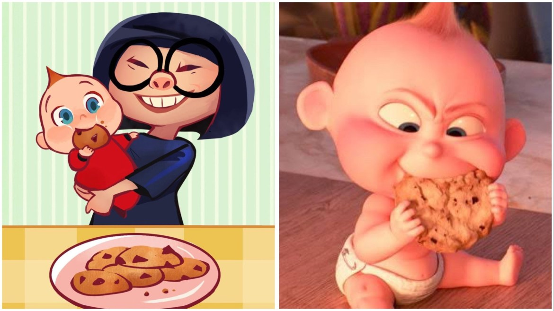 Try This At Home: Pixar's Jack Jack Num Num Cookies Recipe