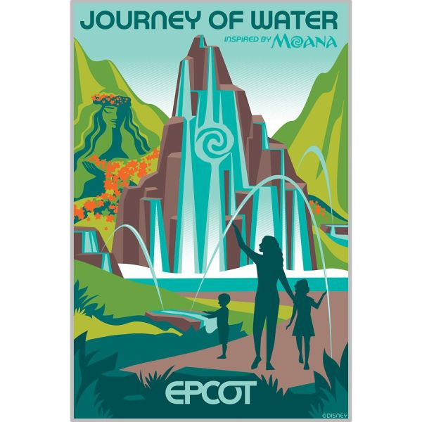 New Epcot Transformation Posters Available On shopDisney 2