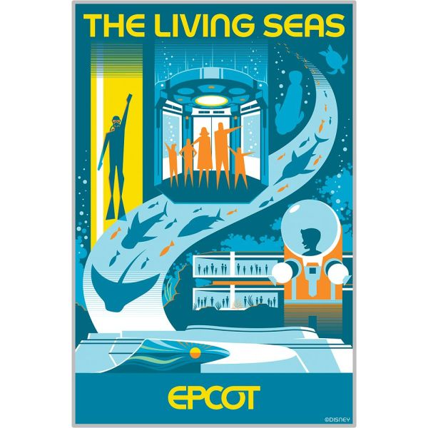New Epcot Transformation Posters Available On shopDisney 3