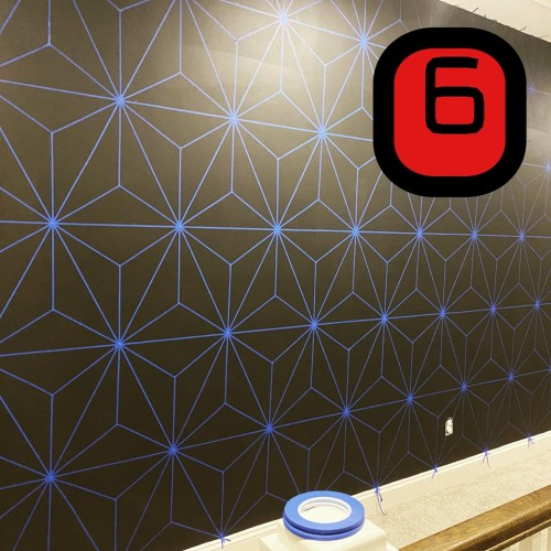 Make this Epcot Spaceship Earth Wall for your home 6