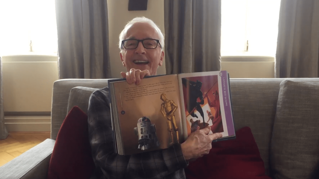 Story Time with Anthony Daniels, the Voice of Star Wars' C3PO