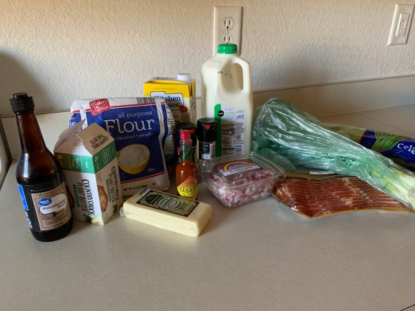 Le Cellier's Canadian Cheddar Cheese Soup Recipe 1