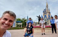 Walt Disney World President Josh D'Amaro Thanks Cast Members While Visiting the Magic Kingdom