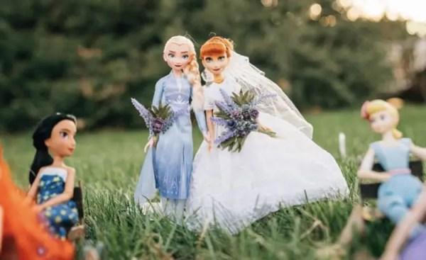 Disney Wedding Photos: Anna and Kristoff's Royal Wedding 3
