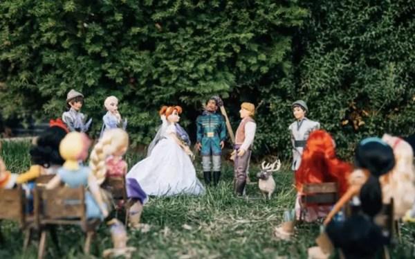 Disney Wedding Photos: Anna and Kristoff's Royal Wedding 4