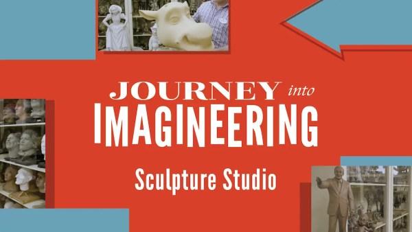 Imagineering Sculpture Studio Tour