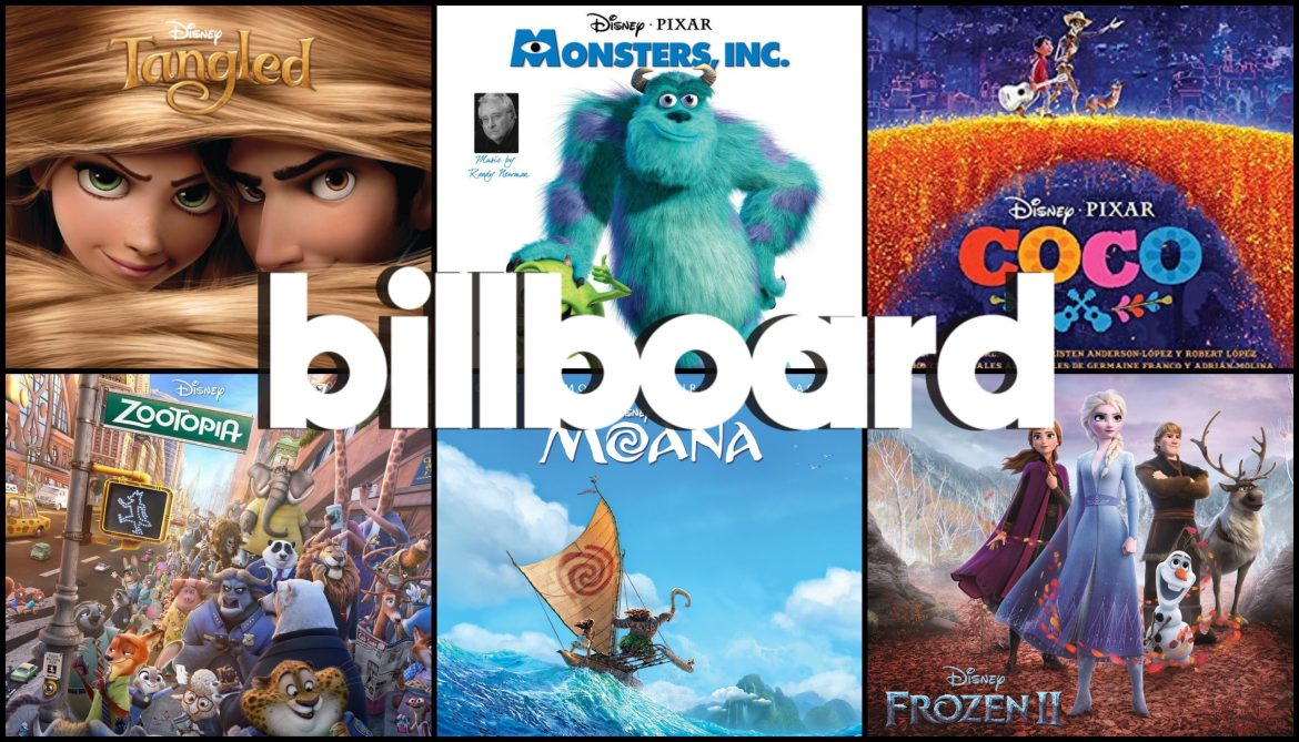 Billboard Shares Disney's Top 12 Songs of the 21st Century