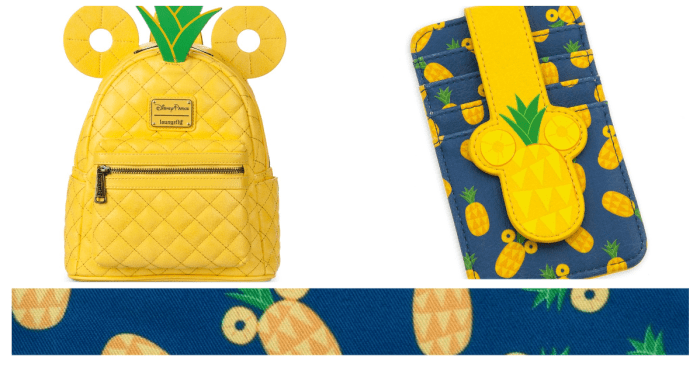Pineapple Mickey Loungefly Collection Is Tropical Treat 1