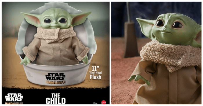 Baby Yoda Plush Now Showing Up At Target Stores 1