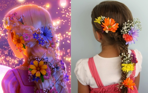 Adorable Disney Hairstyles You Can Do At Home!