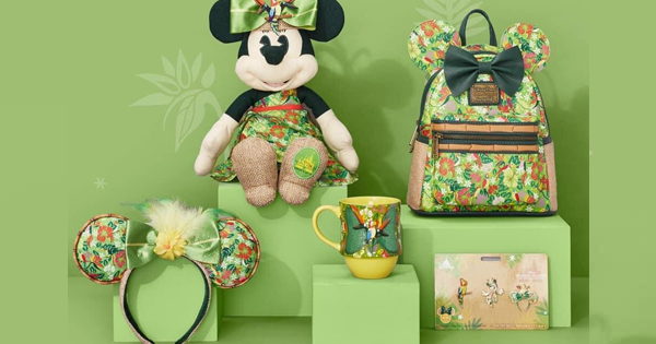 Enchanted Tiki Room Minnie Main Attraction Collection Has Been Unveiled