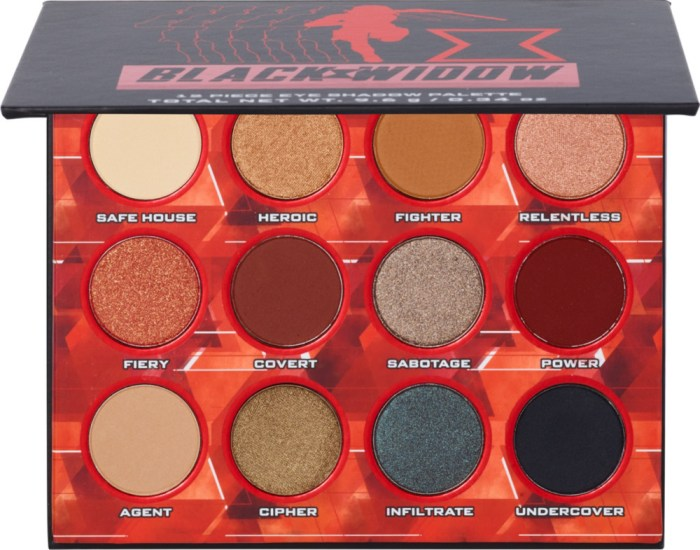 Black Widow Makeup Collection