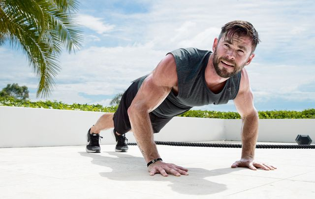Chris Hemsworth Shares How He is Working Out for 'Thor: Love and Thunder' from Home