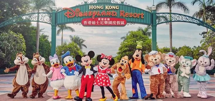 Hong Kong Disneyland Hotel to Resume Character Dining
