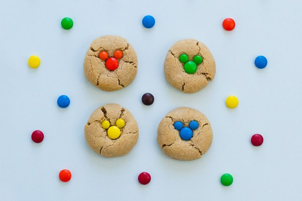 Disney Magic At Home: Mickey Peanut Butter Cookies