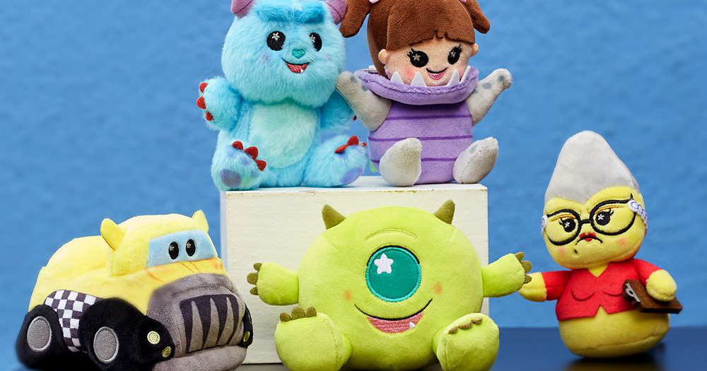 We're Screaming For the New Monsters INC Wishables Collection