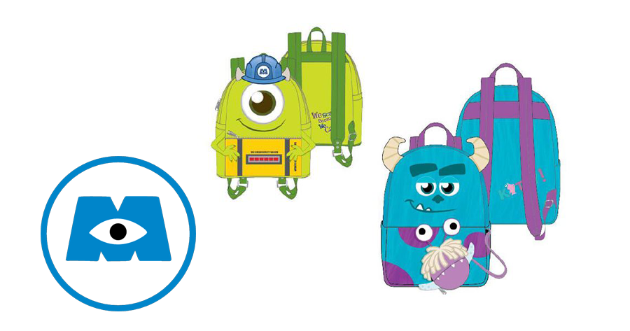 This Monsters INC Loungefly Collection Is Screaming With Style