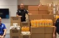 Walt Disney World Donates Snacks and Treats to Orlando Police Department