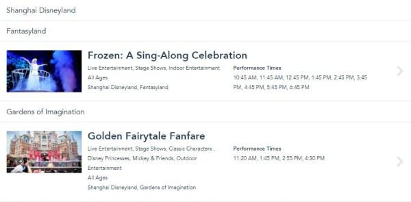 Shanghai Disneyland Stage Shows Resume Operations 1