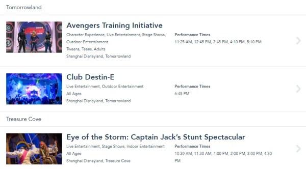 Shanghai Disneyland Stage Shows Resume Operations 2