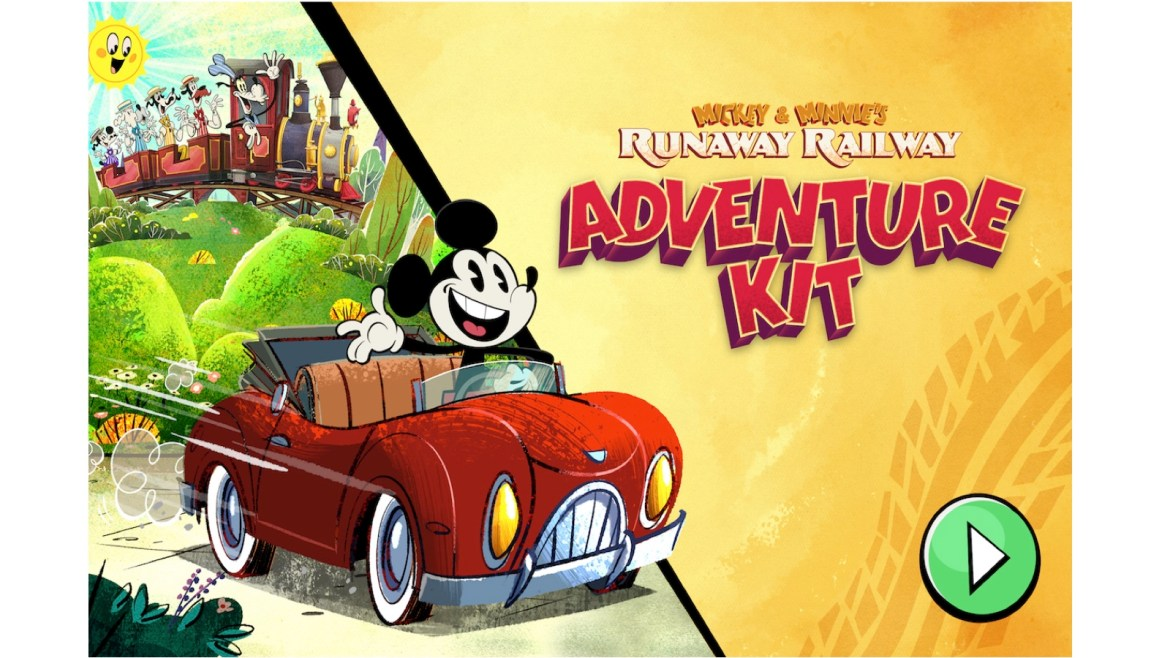 All-New Mickey & Minnie's Runaway Railway Mobile Game