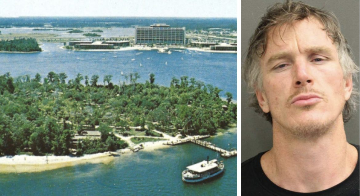 Florida Man arrested for camping on Disney's Discovery Island
