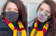 Amazing Harry Potter Face Mask Reveals The Marauder's Map As You Breathe